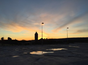 Sunset View from Boscov's Photo by Emily Letoski (February 26, 2016)