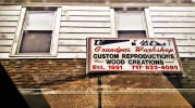 Grandpa's Workshop on Scott Street Photo by Sarah Gyle (April 10, 2016)