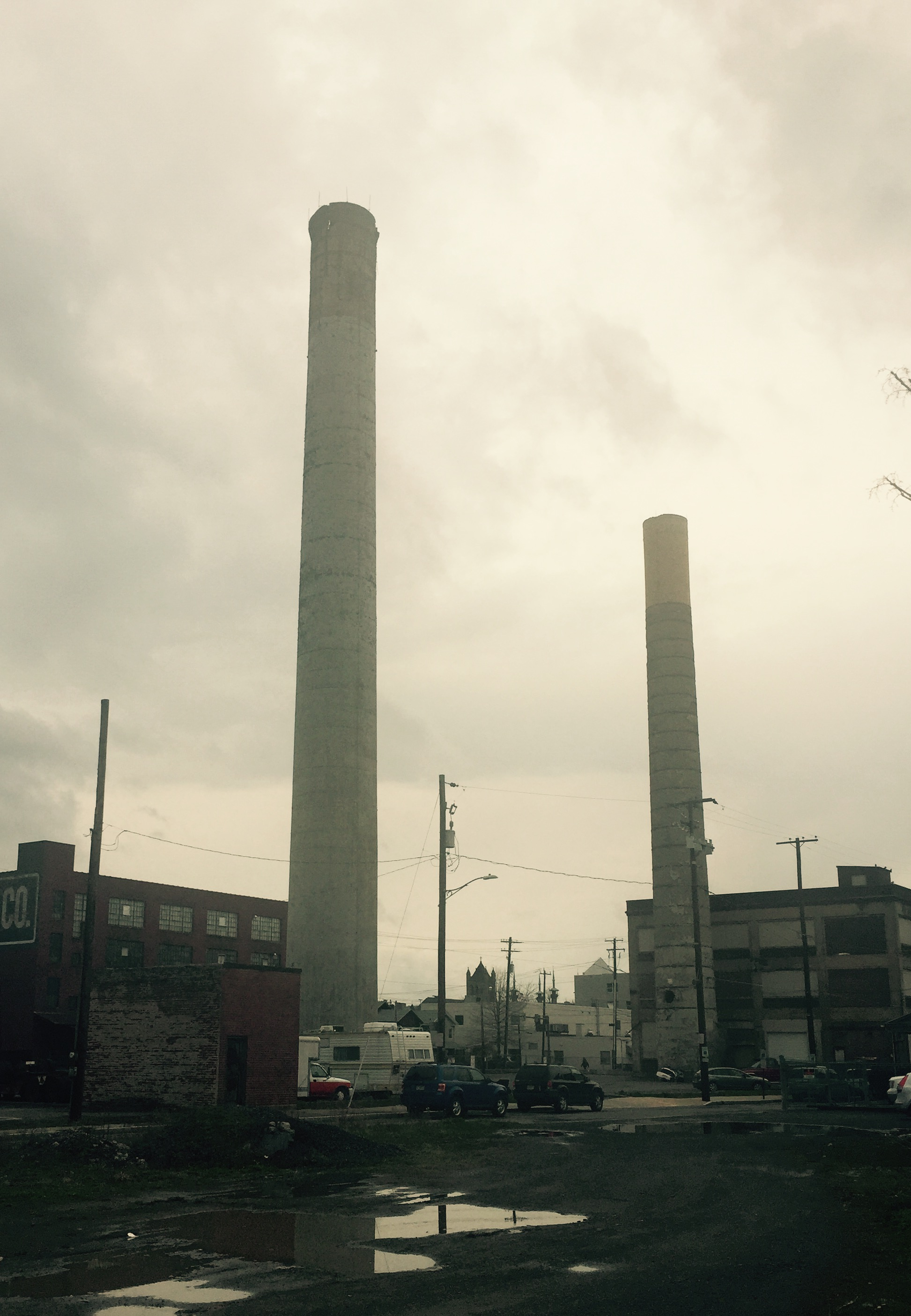 Old Smokestacks Photo by Molly Briana McMullen (April 7, 2016)